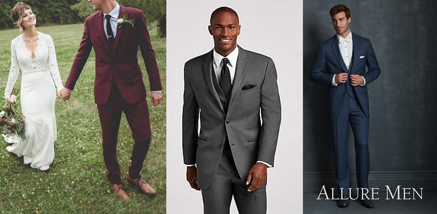 Edmonton's top menswear professionals reveal the latest trends at The Wedding Fair